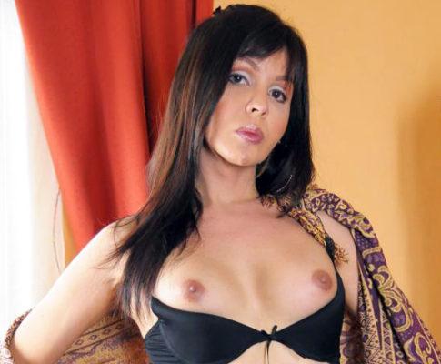 Hot Mature Trans Puts On A Show